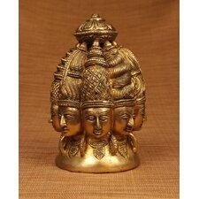 Brass Series Shiva 8 Faces Figurine