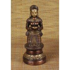 Brass Series Sitting Deep Laxmi Figurine