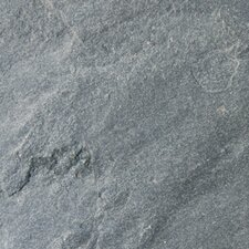 """16"""" x 16"""" Natural Stone Field Tile in Ostrich Grey"""