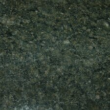 "18"" x 31"" Polished Granite Tile in Emerald Green"