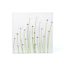 Imaginations Dandelion Stretched Canvas Art