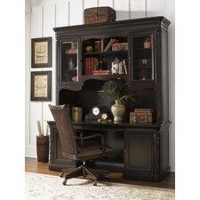 Halton House Winchcombe Executive Desk with Storage Deck