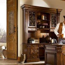 Laredo Executive Desk with Storage Deck