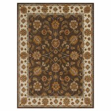 Maple Brown Area Rug