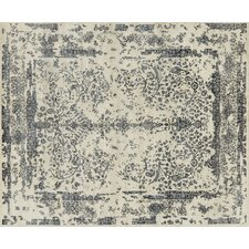 Pearl Heather Gray / Navy Area Rug