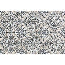 Francesca Blue/White Floral Area Rug