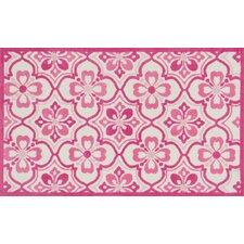 Zoey Pink Area Rug
