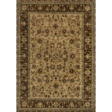 Yorkshire Hand-Tufted Beige/Brown Area Rug