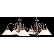 Biltmore 6 Light Kitchen Island Pendant
