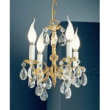 Barcelona 4 Light Crystal Chandelier
