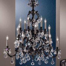 Chateau 18 Light Chandelier