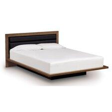 Moduluxe Platform Customizable Bedroom Set with Upholstered Fabric Headboard
