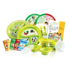 Show 'N Tell Spanish Know-It-All Complete Nutrition 6 Piece Dinnerware Set