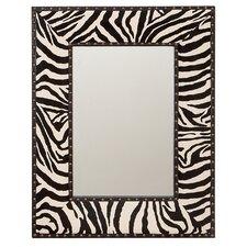Zebra Wall Mirror