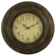 "Oversized 23.5"" Cardiff Wall Clock"