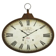 Daphne Oval Wall Clock