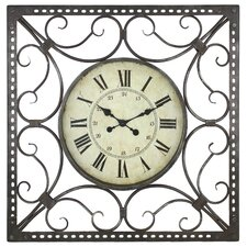 Alyssa Square Wall Clock