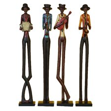 African Band Statue