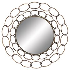 Large Chain Wall Mirror