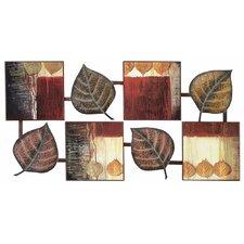 Abstract Leaf Wall Décor