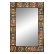 Embossed Frame Wall Mirror