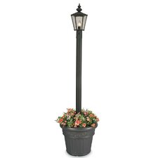 "Cambridge 1 Light 80"" Outdoor Aluminum Post Lantern Set"
