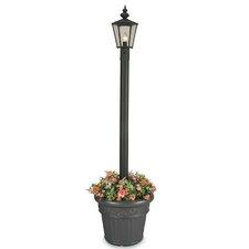 "Cambridge 1 Light 80"" Outdoor Aluminum Post Lantern Set"