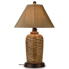 "South Pacific 33"" H Table Lamp with Empire Shade"