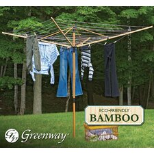 Deluxe Bamboo Fold Away Clothesline