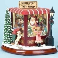 Santas North Pole Toy Shop