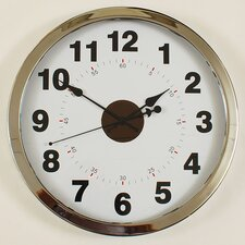"Contemporary 16"" Wall Clock"
