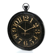 "Classic Home Pocket Watch Shaped 20"" Wall Clock"