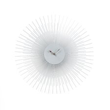 "Sunburst 17"" Wall Clock"
