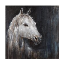 Mystical Horse Painting Print on Wrapped Canvas