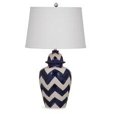 """Russell 30"""" H Table Lamp with Empire Shade"""