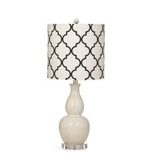 """Benton 28"""" H Table Lamp with Drum Shade"""