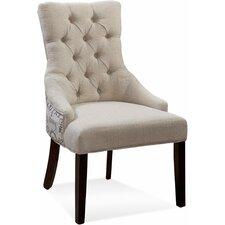 Fortnum Ceylan Tufted Nailhead Parson Side Chair