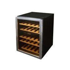 37 Bottle Dual Zone Free Standing Wine Refrigerator