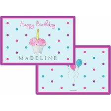 The Kids Tabletop Birthday Cupcake Placemat