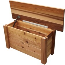 Wood Storage Bench/Toy Box
