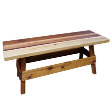 Ceder Wood Picnic Bench
