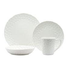Vanilla Marble Round 16 Piece Dinnerware Set
