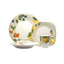 Fruit Salad 16 Piece Dinnerware Set