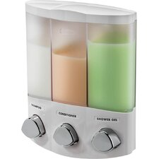 Euro Trio Dispenser with Translucent Container
