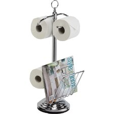 The Toilet Caddy Free Standing Toilet Paper Holder