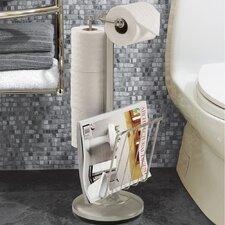 The Toilet Caddy Free Standing Toilet Holder