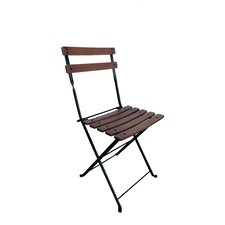 French Café Bistro Folding Side Chair (Set of 2)