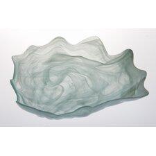 Alabaster Shell Serving Bowl