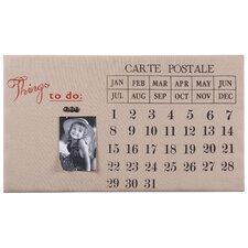 Eternal Wall Mounted Calendar/Planner Bulletin Board, 1' x 2'