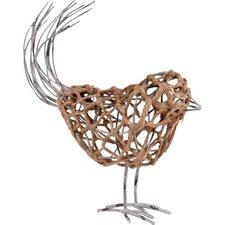 Bird Wire Decor Figurine